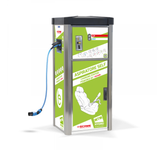 AS1-2 SELF VACUUM CLEANER WITH INTEGRATED ELECTRIC CAR CHARGER