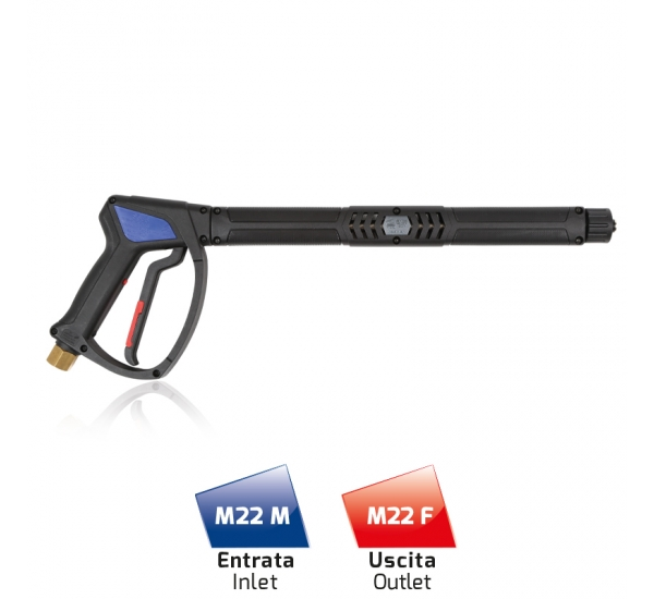 Wash Gun with EXS35 RND Extension Professional by Mtm Hydro