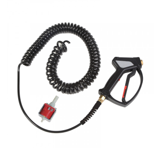 TIRE BLACKENING PRODUCT GUN + WIRE SPIRAL HOSE 8 M. - COD. 0875611010