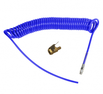WIRE SPIRAL HOSE KIT WITH INFLATORS HEAD