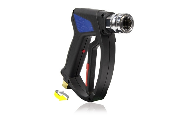 SG35 SWIVEL INLET WASH GUN WITH BC35 QUICK RELEASE COUPLING