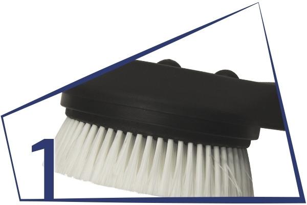 1. ROTATING WASH BRUSHES