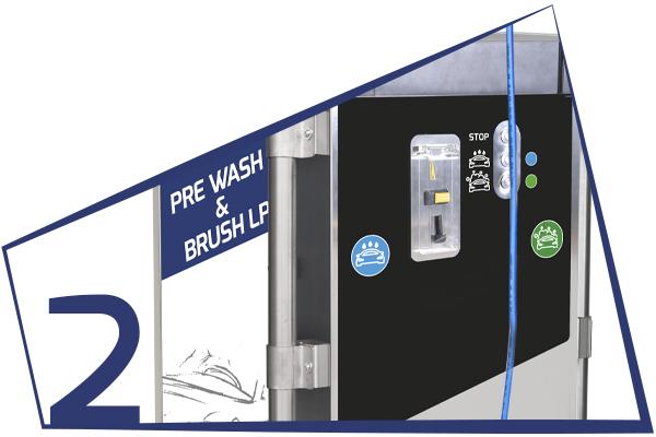 SPW-WASH HP&BRUSH FOAM LP