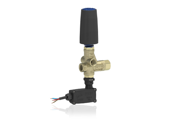 BRV31 T PRESSURE REGULATING UNLOADER VALVE WITH MICROSWITCH AND KNOB