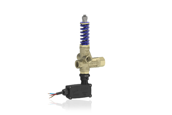 BRV31 T PRESSURE REGULATING UNLOADER VALVE WITH MICROSWITCH WITHOUT KNOB