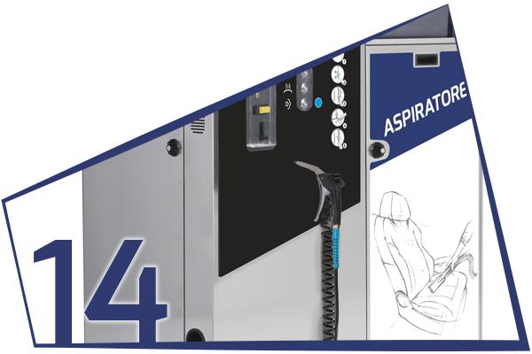 AF2 AIR DOUBLE SELF VACUUM CLEANER