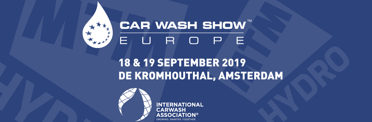 MTM HYDRO AT CAR WASH SHOW EUROPE 2019