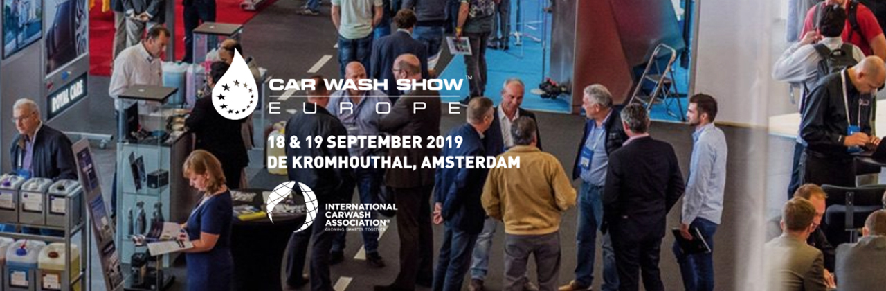MTM HYDRO PARTECIPATES IN THE CAR WASH SHOW EUROPE 2019 IN AMSTERDAM